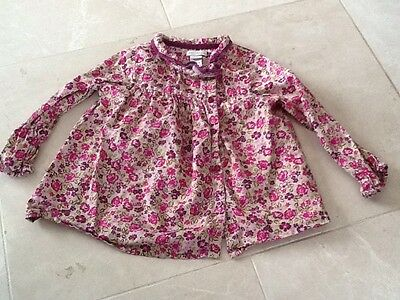 Monsoon Baby Girls Floral Shirt 18-24 Month