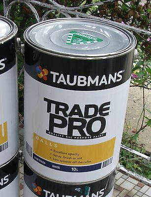 Taubmans 'Trade Pro' Low Sheen Interior Wall Paint – 10L