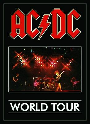 ACDC 1980-81 Hells Bells World Tour Stand-Up Display