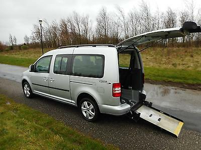 2011 Volkswagen Caddy Maxi Life 1.6 TDI *27k* WHEELCHAIR ACCESSIBLE DISABLED CAR
