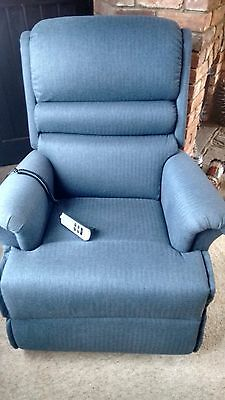 Sherborne Lift & Rise chair - very nearly NEW