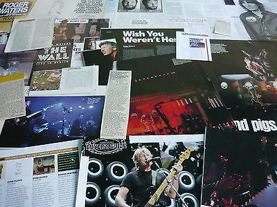 Roger Waters (Pink Floyd) - Magazine Cuttings Collection (Ref R8)