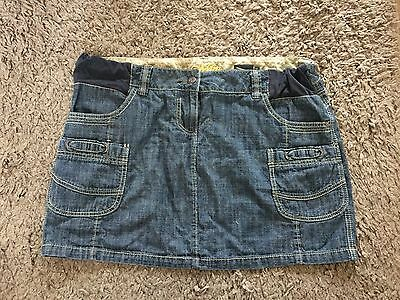 Womens Next Maternity Denim Skirt Size 16