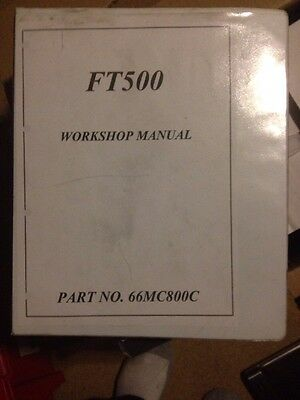 Rare Official Genuine Honda FT500 workshop manual 1980's