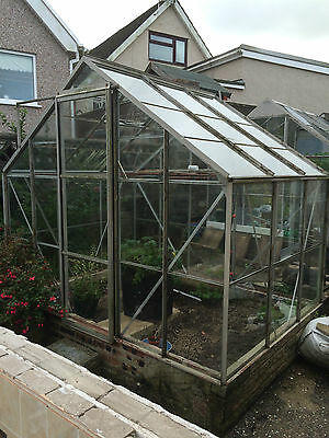 Greenhouse - Aluminium 8ft x 6ft - Used VGC