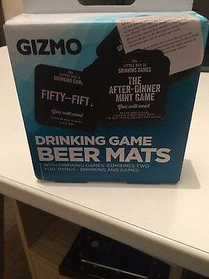 Beer Mats Drinking Game Games. New in the box