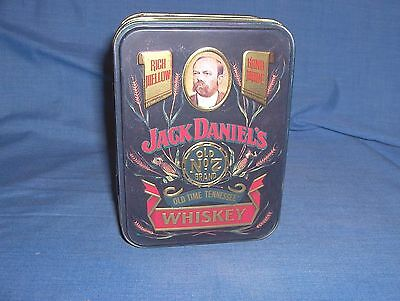 #412 - Small Jack Daniel's Old No. 7 Whiskey Collector Tin - New - England