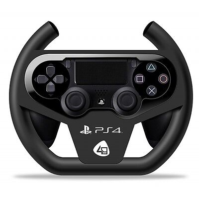 4Gamers Compact Racing Wheel PS4 Brand New