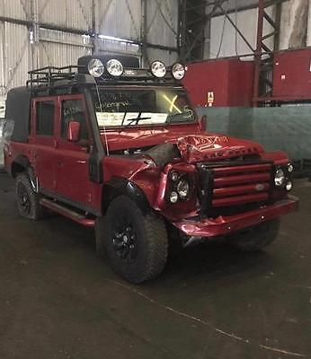 2013 Landrover Defender 110 2.2 Tdci Breaking Part Complete Front Abs Axle