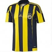 Nwt Boys Fenerbahce Home Shirt By Adidas  Size 7-8 Years Brand New With Tags