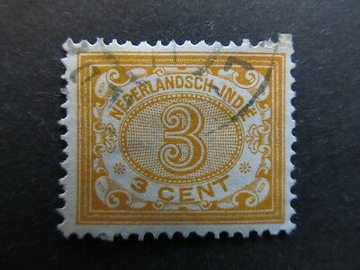 A3P28 Netherlands Indies 1902-09 3c used #24
