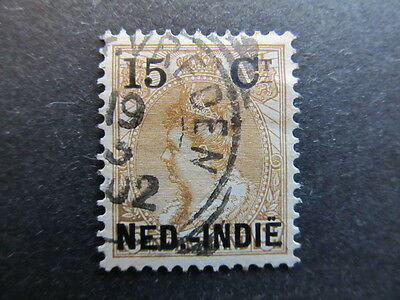 A3P28 Netherlands Indies 1900 surch 15c on 15c used #16