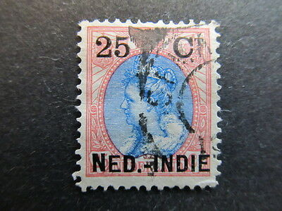A3P28 Netherlands Indies 1900 surch 25c on 25c used #18