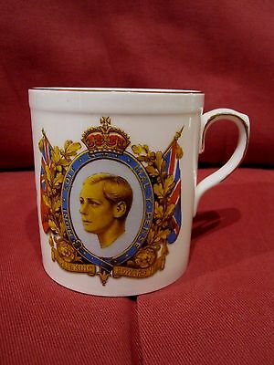Highly Collectable Rare Commemorative Mug Abdication Edward Viii 1936