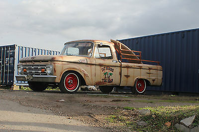 1964 Ford F100 Pick Up Truck Hotrod Ratrod Shop Truck