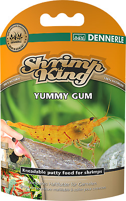 DENNERLE SHRIMP KING YUMMY GUM Putty Food  Crystal Red Cherry Taiwan Bee Tiger