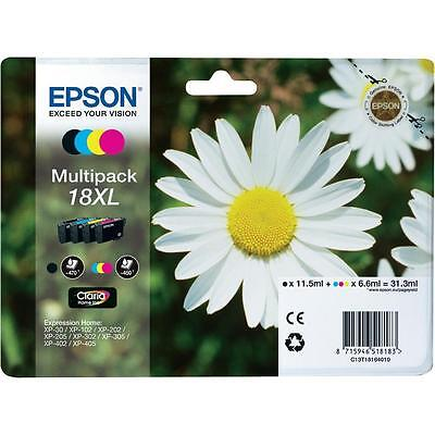 Cartucho Original Epson T1816, epson 18 XL  (Pack 4 colores)