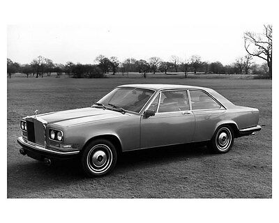 1975 Rolls Royce Camargue ORIGINAL Factory Photo ouc2909