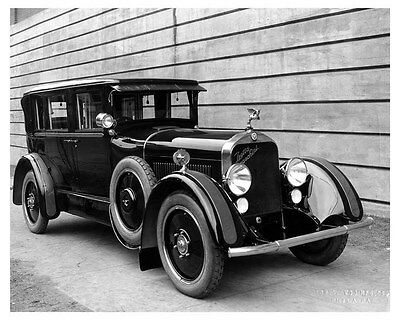 1923 Isotta Fraschini ORIGINAL Linen-Backed Factory Photo Budd Custom ouc2968