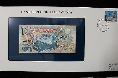 ND 1983 Seychelles. 10 Rupees. UNC.