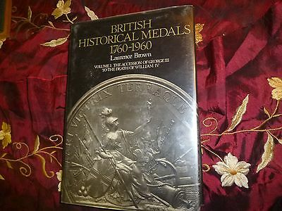 British Historical Medals, 1760-1960, Laurence Brown, 1980, Numismatic Ref