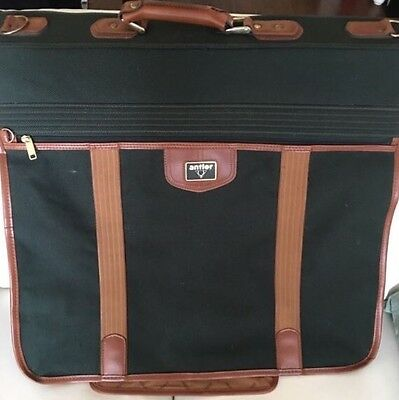 Antler Green Suit Garment Classic Carrier Luggage Hold-all Bag With Pockets