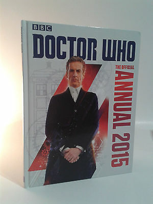BBC Books THE OFFICIAL DOCTOR WHO ANNUAL 2015 Peter Capaldi