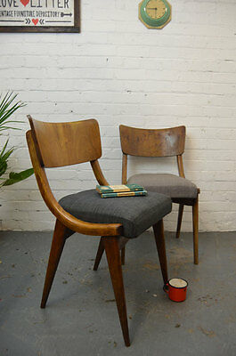 2 x Vintage Mid Century Benchair Dining Chair