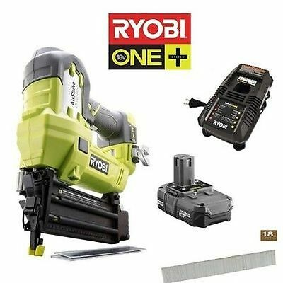 Ryobi ZRP854 ONE+ 18V Lithium-Ion 2-in Brad Nailer (P854) Battery & Charger Incl