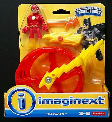 Fisher Price Imaginext DC Super Friends The Flash with Wheel NEW