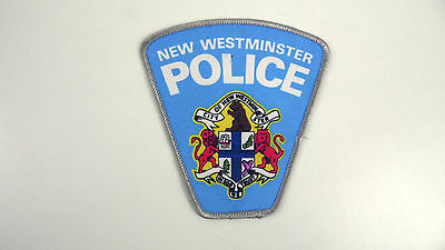 New Westminster, Canada, Police Dept Patch