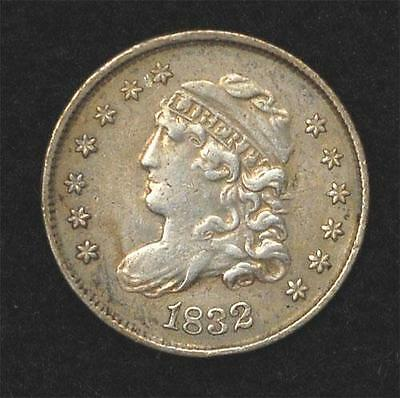 1832 Capped Bust Half Dime:  VF-XF