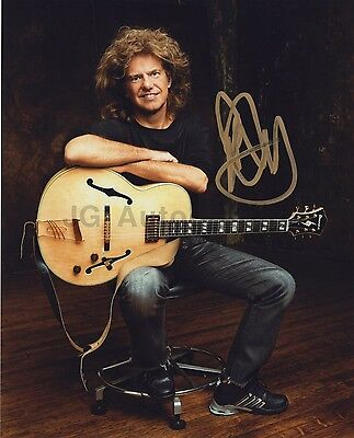 Pat Metheny - Jazz Guitarist & Composer - Autographed 8x10 Photograph