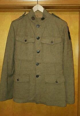 WW1 US Army  Uniform jacket with 1st army patch, shirt, Pants, and belt