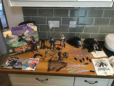 Sectaurs 1985 Rare Vintage Toy Collection Paperwork And Box