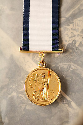 Royal Navy Gold Medal Capt Hardy Hms Victory Small Version Naval Officer