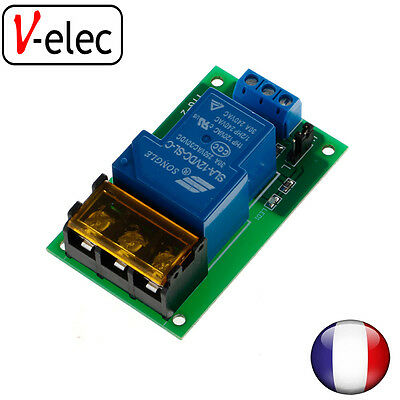 12V 30A Relay Board Module Optocoupler Isolation High/Low Trigger