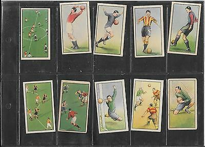 B.a.t. - Hints On Association Football (Chinese Backs) - 1934 - 10 Cards
