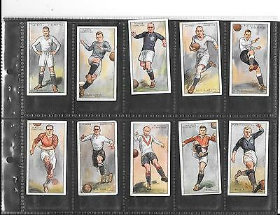 Player's - Footballers 1928  - 10 Cards