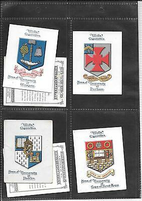 Will's - Arms Of Universities - 1923 - 6 Large Cards