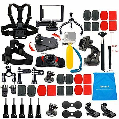 Lifelimit Accessories Starter Kit for Gopro Hero 5/Session/4/3/2/HD Original ...