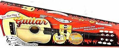 You Can Play Guitar Kit Inc Guitar, Instructional Book, Play-Along CD, Boxed NEW