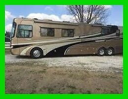2006 Holiday Rambler Imperial 43' Class A Cummins 400 4 Slides Generator Hitch