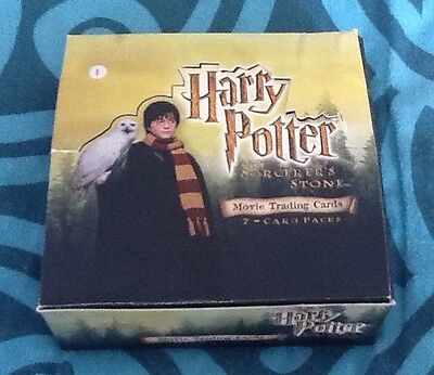 Job Lot 250+ Harry Potter And The Sorcerer's Stone Trading Cards Inc 7 Chase !
