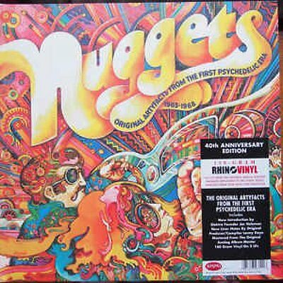 Nuggets:Original Artyfacts From The First Psyched. Era 1965-1968 2LP NEU 0550966