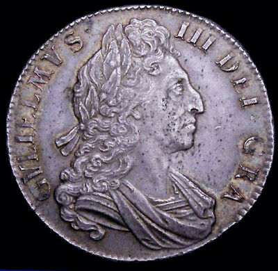 1700 GEF William III Silver Crown ESC 97 CGS 65  ☆☆☆ Spink £3000  ☆☆☆