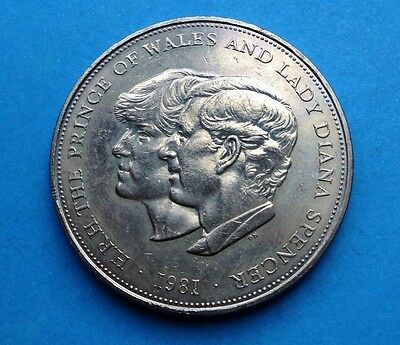 HRH Prince Charles and Lady Diana commerative coin