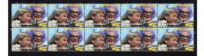 Dame Edna Everage Aust Icon Strip Of 10 Mint Stamps 1