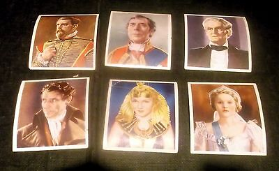 6 Godfrey Phillips Cigarette Cards Characters Come To Life