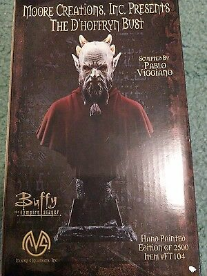 Diamond Select Buffy The Vampire Slayer D'Hoffryn Resin Bust Statue COA Limited
